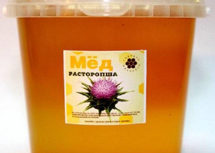 Как распознать расторопшевый мед