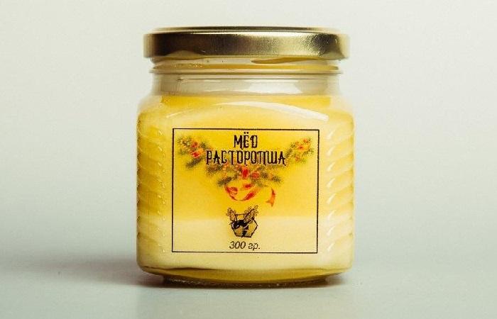 Мед с расторопшей - фото