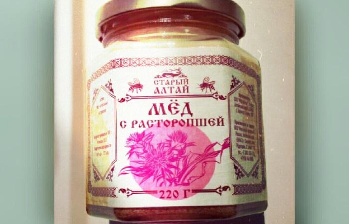 Мед расторопшевый - фото