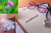 Применение расторопши при пневмонии