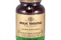 Молочный чертополох Солгар Milk Thistle — что это такое и почему многие выбирают именно эту торговую марку